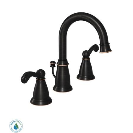 Moen 84004brb Mediterranean Bronze Double Handle
