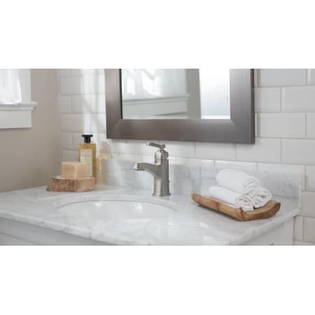 widespread dp faucet from chrome collection handle moen double faucets boardwalk the bathroom