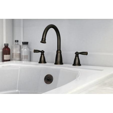 Moen 86924 Roman Tub Faucet Build Com