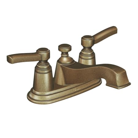 Moen S6201 Chrome Double Handle Centerset Bathroom Faucet From The Rothbury Collection Valve