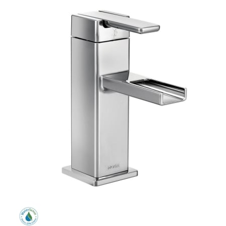 Moen S6705 Chrome Single Handle Single Hole Bathroom Faucet From The