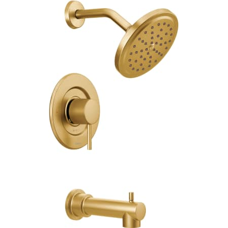 Moen T3293bg Brushed Gold Moentrol Pressure Balanced Tub And Shower