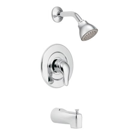 Moen Tl471 Chrome Pressure Balanced Tub And Shower Trim