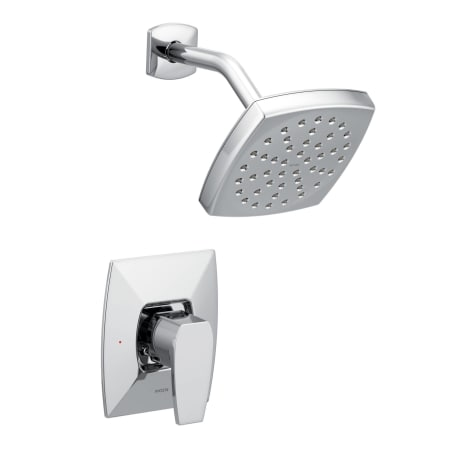 Moen ts8712ep chrome via shower trim package with single for Llaves para regadera moen