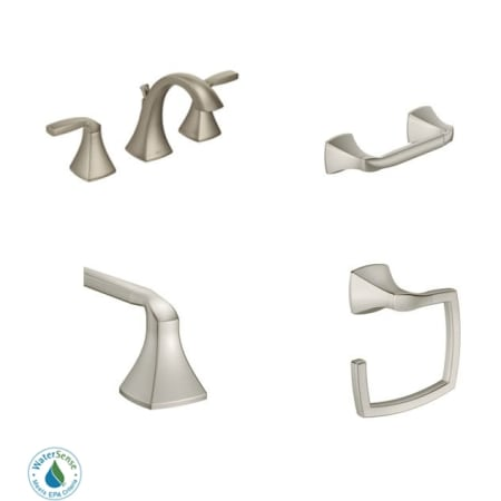 Moen Voss Faucet And Accessory Bundle 1 Bathroom Faucet Buildcom