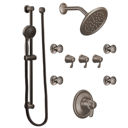 A Large Image Of The Moen 775 Oil Rubbed Bronze