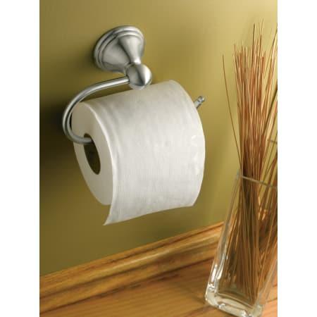 Moen Csidn8408bn Brushed Nickel Single Post Toilet Paper