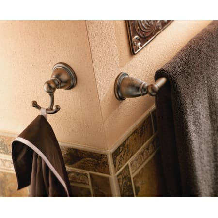 Moen Csiyb2218bn Brushed Nickel 18 Quot Towel Bar From The