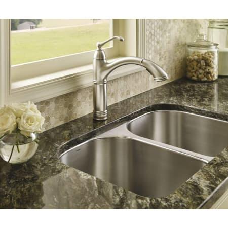 Moen S73709c Chrome Pullout Spray High Arc Kitchen Faucet