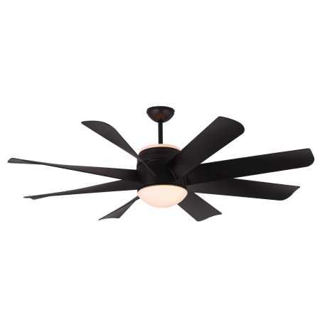 Monte carlo 8tnr56bkd matte black turbine 8 blade 56 ceiling fan monte carlo turbine aloadofball Images