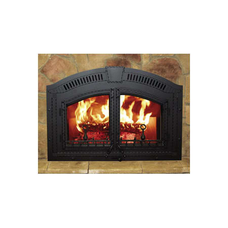 Napoleon Nz6000 1 Black High Country Epa Zero Clearance Wood Burning Fireplace