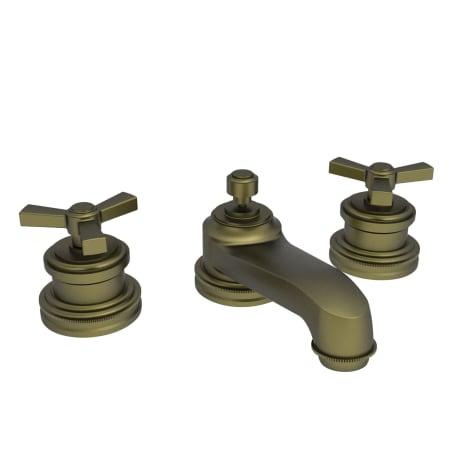 Newport Brass 1600 06 Antique Brass Miro Double Handle
