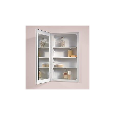 NuTone 1035P24WHGX. 26 Inch X 16 Inch Single Door Reversible Hinge Medicine  Cabinet ...
