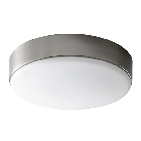 oxygen lighting journey ceiling flush mount light fixture bathroom vanity lighting other oxygen lighting 3 626 24 satin nickel journey 14 quot wide 2 light single flush mount led ceiling
