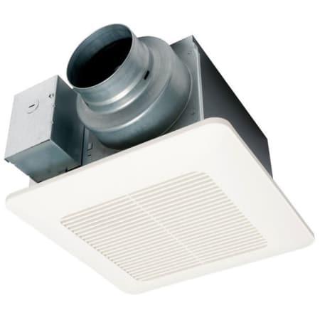 Panasonic fv 0511vq1 white 110 cfm 0 9 sones exhaust fan - Recommended cfm for bathroom fan ...