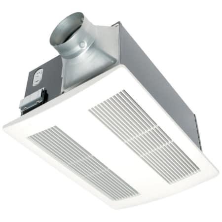 Panasonic Fv 11vh2 White Whisperwarm 110 Cfm 0 6 Sone Ceiling Mounted Energy Star Rated Bath Fan