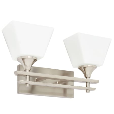 Park Harbor Phvl2232bn Brushed Nickel Mcbryde 2 Light 17 3 16 Wide Bathroom Vanity Light With