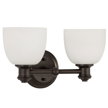 Park Harbor Phvl2132brz Plated Oxidized Bronze Peebles 15 Wide 2 Light Bathroom Fixture