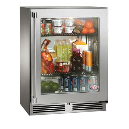 Perlick Hh24rs 3 3r 24 Built In Sottile Series Refrigerator W