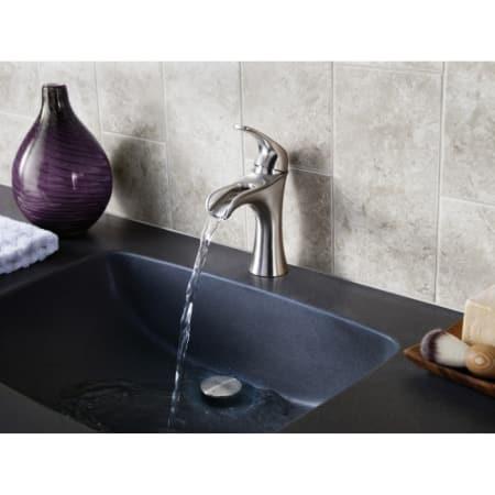 Pfister F-042-JDKK Brushed Nickel Jaida Waterfall Bathroom ...