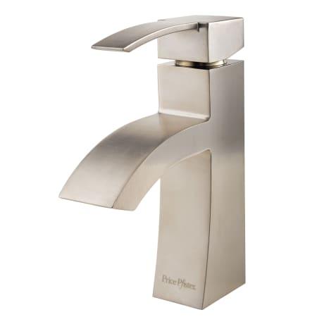 Pfister F 042 Bnkk Brushed Nickel Bernini Single Hole Bathroom Sink