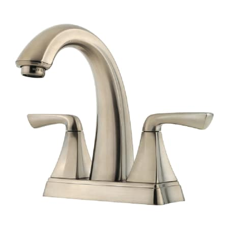 pfister selia kitchen faucet pfister f 048 slkk brushed nickel selia centerset bathroom 21254