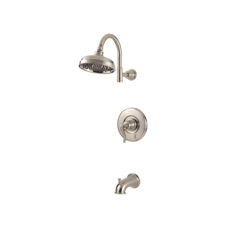 Pfister G89 8ypk Brushed Nickel Ashfield Tub And Shower Faucet Valve