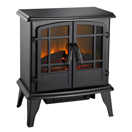 Pleasant Hearth Ses 41 10 Matte Black Electric 20 Inch Wood Stove