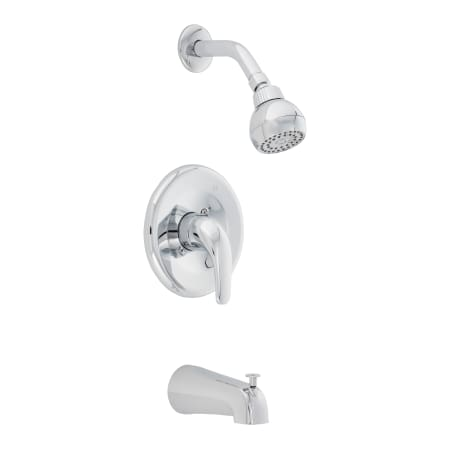 Proflo Pf7611scp Polished Chrome Tub And Shower Trim Package With