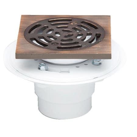 Proflo Pf821porbq Oil Rubbed Bronze 2 Pvc Adjustable Shower Drain