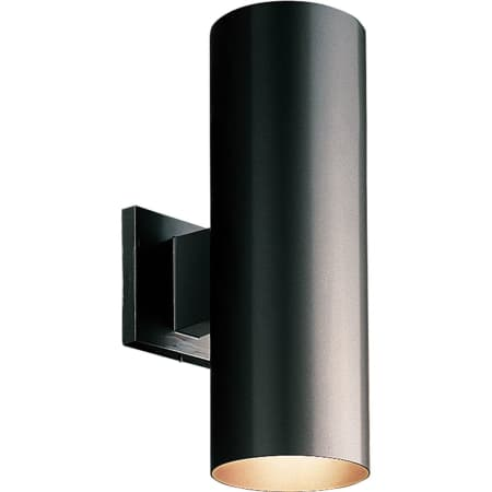 Progress Lighting Outdoor Wall Sconce Progress lighting p5675 3130k black cylinder 2 light led outdoor progress lighting p5675 led workwithnaturefo