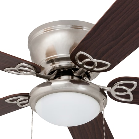 Prominence Home 50851 36 Bronze Benton 52 Quot 5 Blade Led Hugger Indoor Ceiling Fan With Light Kit