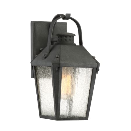 Quoizel Crg8406mb Mottled Black Carriage Single Light 12