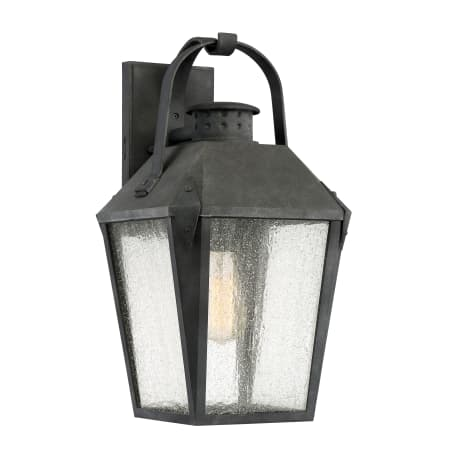 Quoizel Crg8410mb Mottled Black Carriage Single Light 19