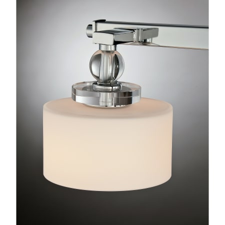 Quoizel Dw8603bnled Brushed Nickel Downtown 3 Light 25