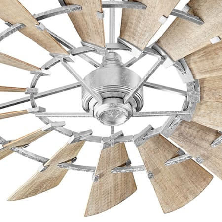 quorum ceiling fans polished brass large image of the quorum international 96015 galvanized 960159 60
