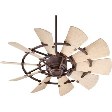 Quorum International 194410 86 Oiled Bronze Windmill 44
