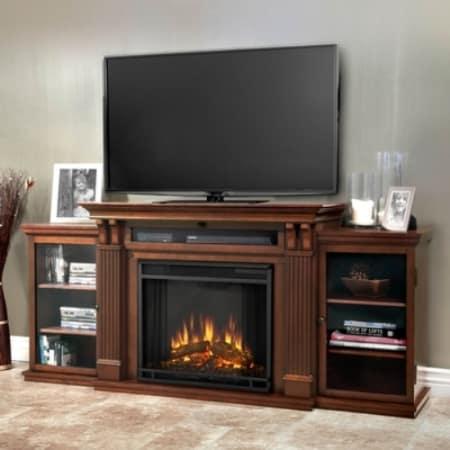Real Flame Calie Media Console Electric Fireplace - 7720E-DE
