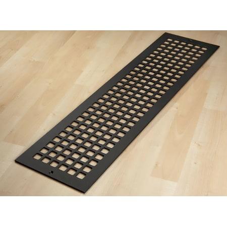Reggio Registers G832 Sbnh Black Steel Grid Series 30 Quot X 6