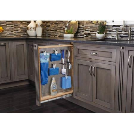 rev a shelf 434 bfbbsc 6ss natural 434 series 6 inch base filler pull out organizer peg board. Black Bedroom Furniture Sets. Home Design Ideas