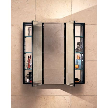 Robern Plm3030w White 30 Quot Triple Door Mirrored Medicine