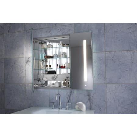 Robern Ac3630d4p2l Mirrored Aio 36 X 30 X 4 Double Door Medicine