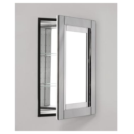 Robern Mp24d4cdwn Mirrored With White Glass Frame Candre