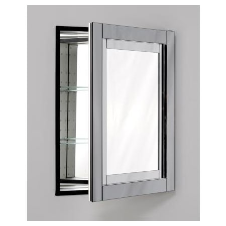 Robern Mt24d4cdgn Mirrored With Tinted Gray Mirror Frame