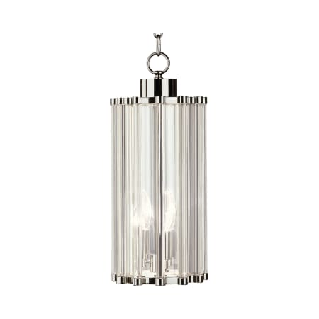 A Large Image Of The Robert Abbey Cole 8 Pendant Polished Nickel
