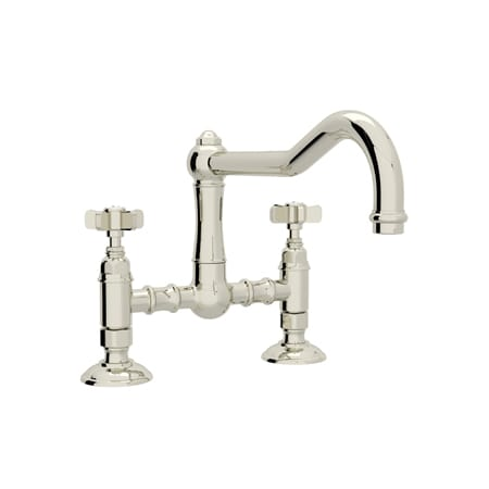 Spoke Handles Kitchen Faucet