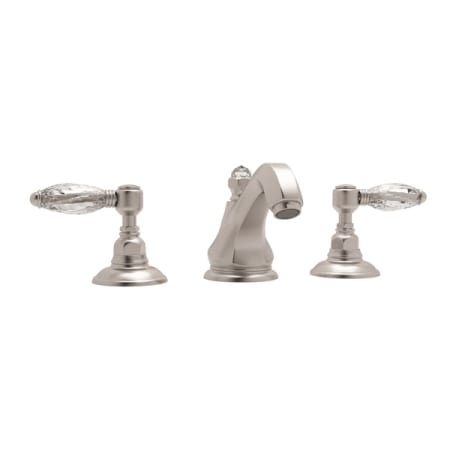 Rohl A1808lcstn 2 Satin Nickel Country Bath Widespread