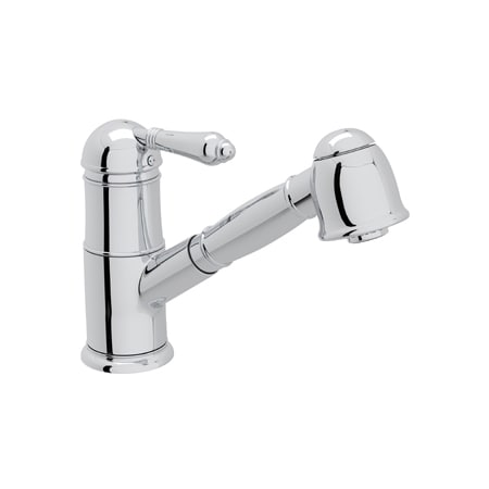 Rohl A3410lmapc 2 Polished Chrome Country Kitchen Single