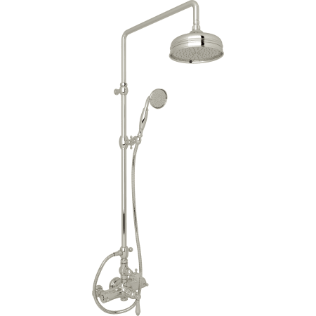 Rohl AKIT49171EXMPN Polished Nickel Country Bath Shower System with ...