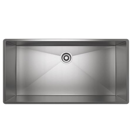 Rohl Rss3618sb Brushed Stainless Steel 37 1 2 Undermount Single